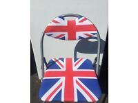 Union Jack Fold Away Chair