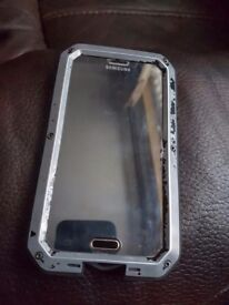 Samsung Galaxy S5 WITH CASE AND SCREEN PROTECTOR