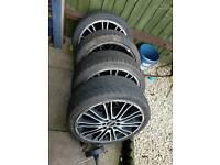 """4 17"""" alloy wheels"""