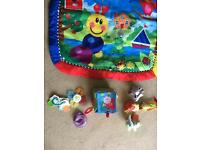 Lovely baby playmat with toys