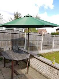 4 Folding wooden chairs Homebase