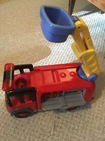 elc fire engine no figures