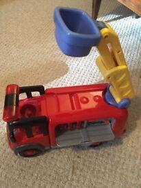elc fire engine no figures