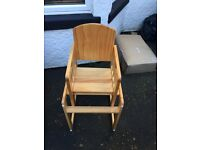 Mothercare Wooded High Chair