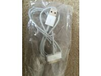 ipad and iphone charging lead cable
