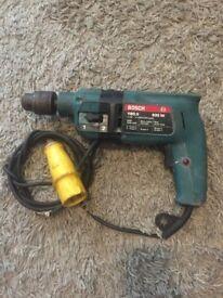 Bosch 600w Hammer Drill 110v