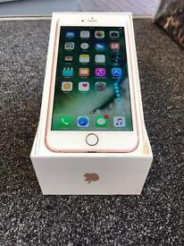 BRAND NEW CONDITION IPHONE 6S PLUS ROSE GOLD