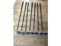 Callaway big Bertha irons graphite shaft including 10 iron