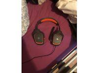 Genuine Logitech G231 Gaming Headset (( Bargain ))