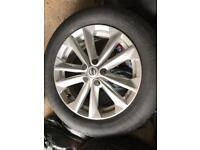 "Nissan Qashqai 17"" Alloys and Wheels (3 available)"