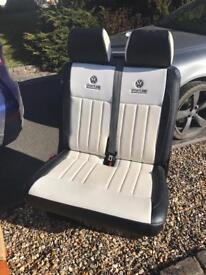 Vw t5 passenger seats sportline white leather