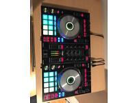 """Pioneer DDJ-SR2 Deck & 2KRK5"""" Monitor Speaker"""
