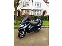 2008 PIAGGIO XEVO 125cc NEW MOT RIDE AWAY £950