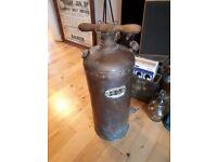 Vintage Copper Sprayer (Industrial / Steampunk)