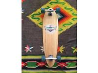 Bamboo longboard approx 40inches