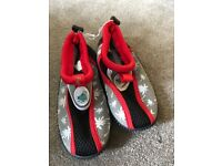 Kids beach shoes size 11
