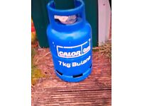 Empty 7kg gas bottle