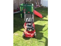"Mountfield 100cc Petrol Lawnmower cut 17"" works great can be seen working cb5 £95"