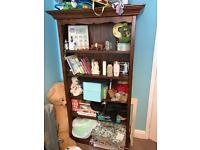 Dark Wood Bookcase - Great Condition