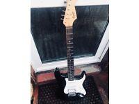 "Fender Squire Stratocaster ""Scalloped frets"""