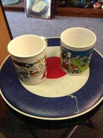 1990s rare Flintstones Mugs cup collectable memorbilla