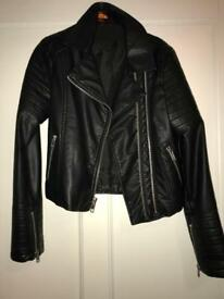 Girls leather jacket