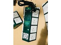 Cheshunt Hydroponics Store - used 8 way GreenPower timer contactor relay
