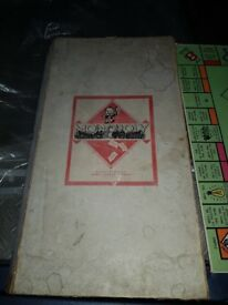 Monopoly Edition Francaise, Pre-Patent (Believe to be Pre 1945) - see description