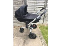 Quinny Buzz Xtra Cabriofix Travel system 3 in 1 Black