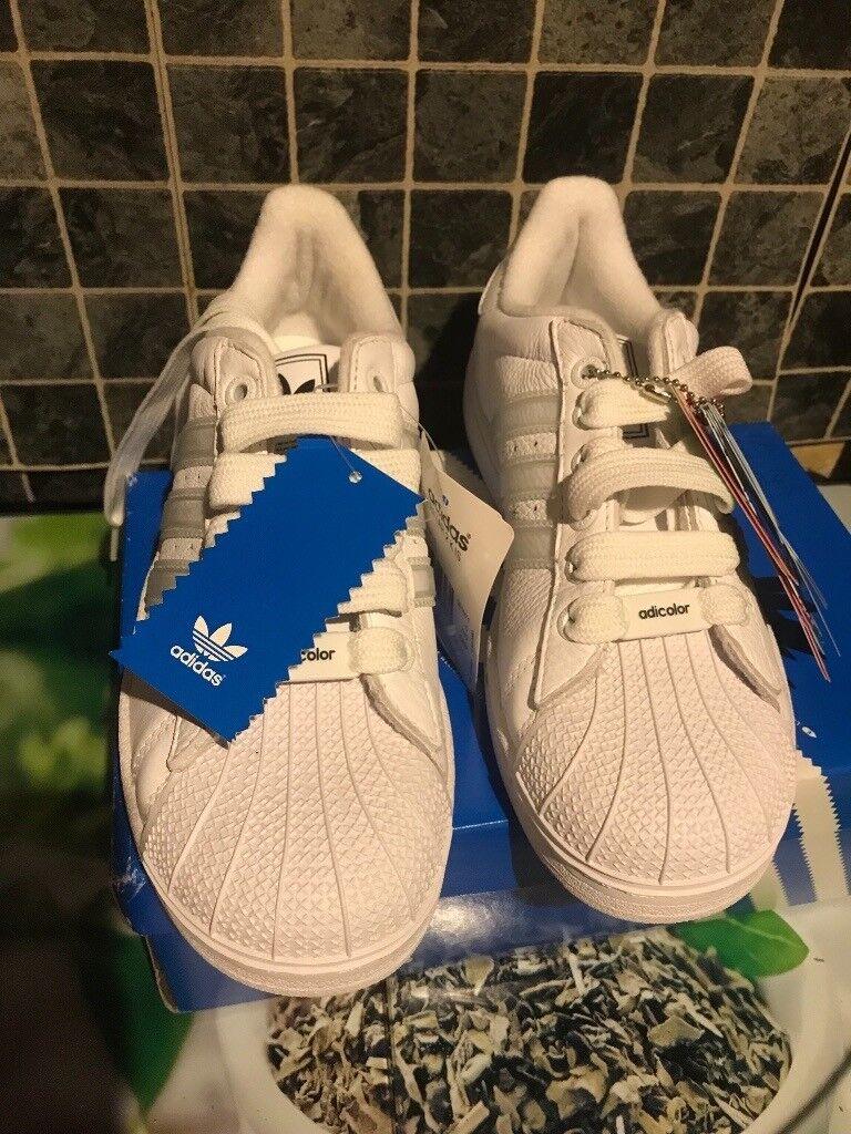 c4306b1f42a1 Adidas superstar shell toe trainers