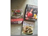 3 as new perfect condition cook books