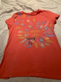 Girls 12/13 T-shirt