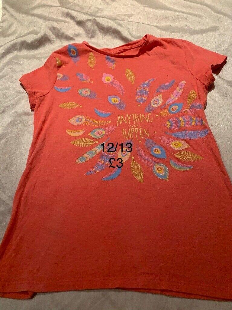 Girls 12/13 T-shirt