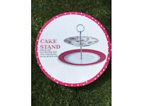New Porcelain Cake Stand