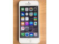 iPhone 5, Unlocked, White