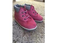 Infant 1.5 pink timberland boots