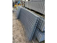 JUST COME IN 7ft3 x 3ft6 heavy duty galv steel mesh panel