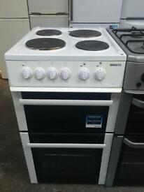 BEKO free standing electric cooker 50 cm Width in good condition & perfect working order