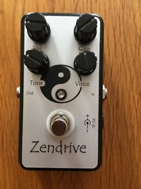 Hermida Audio Zendrive, Handwired Guitar Pedal, Rare Original (Not Lovepedal)