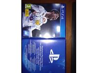 PS4 Fifa 18 brand new and sealed + 14 day trial, Rare Players Pack, 3 Icon loan players