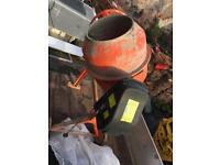 Concrete mixer 230v