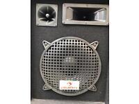 4x Auna speakers