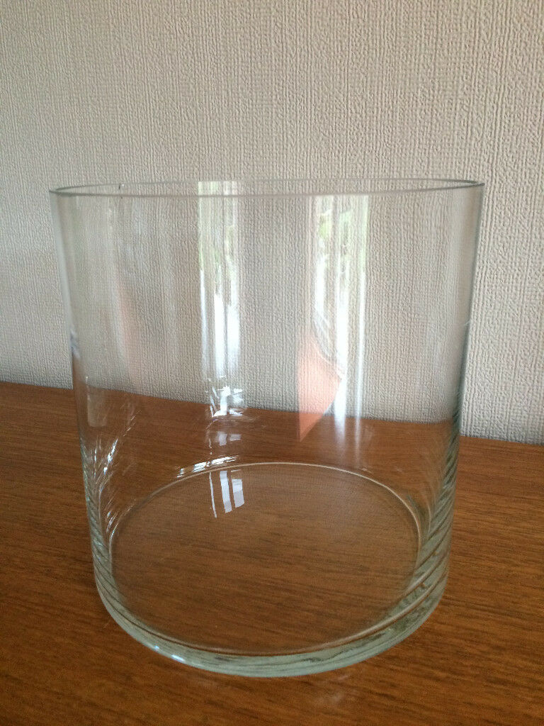 Large Clear Gl Vase Bowl Container
