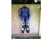 IXS 2 Piece Leather Suit