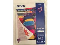 Epson Double Sided Matt And Premium Glossy Photo Paper
