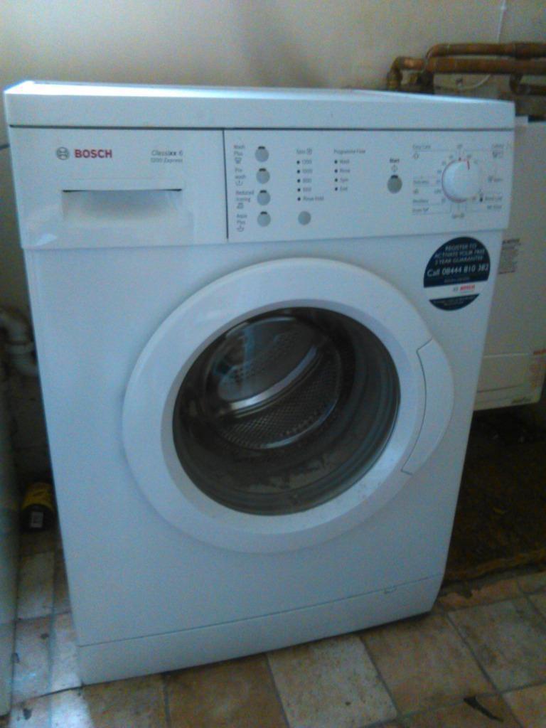used bosch washing machine