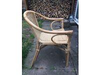 Bamboo rattan chair