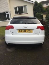 Audi A3 SLine White Best Price, Cheap, Cheapest, Great Condition
