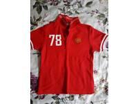 Manchester t-shirt size 4-5