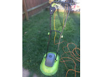 Charles Bentley Electric Hover Mower 1000W 28cm Cutting Blade
